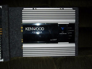 Kenwood car stereo system (complete) London Ontario image 9
