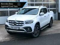 "Mercedes-Benz X-Class 250d Power 4MATIC Auto with 19"" alloys"
