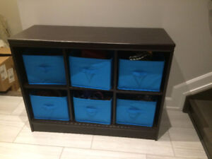 6 Cube storage table. Entry table
