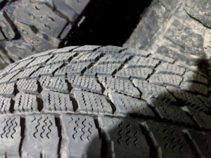 215/60R17 winter tires on rims for sale