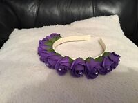 Wedding flower girl head band