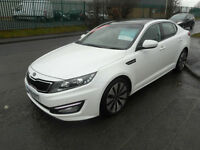 KIA OPTIMA LUXE 2 DIESEL AUTO 4 DOOR SAT NAV LEATHER PANO ROOF