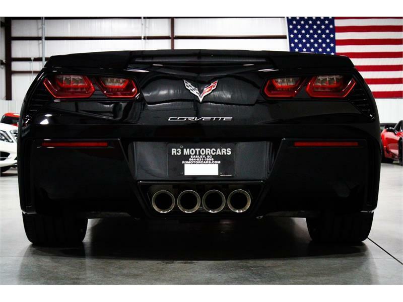 2019 Black Chevrolet Corvette Convertible 1LT | C7 Corvette Photo 4