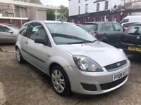 Ford Fiesta 1.25 2006 Style Climate 3 door in Moonstone Silver new MOT & service