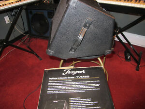 TRAYNOR {  rechargeable battery powered } AMPLIFIER