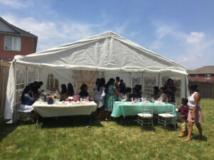 CHEAP PRICING for Table, Chair, LED lights and Tent Rentals.