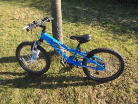 Saracen Rufftrax 20inch Wheel kids Mountain Bike