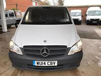 2014 MERCEDES BENZ VITO 2.1 113CDI Long Panel Van 5dr EU5