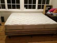 king bed - mattress and base Cammeray North Sydney Area Preview