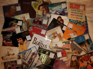 LP VINYL Record collection