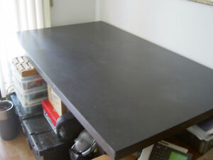 Black  Kitchen Table made of Wood