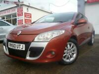 2010 Renault Megane 1.5 DCI 106 BHP EXPRESSION EDITION SPORTS COUPE 20 RFL Coupe