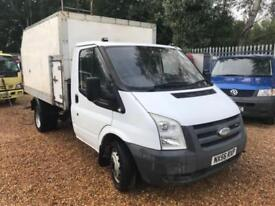 FORD TRANSIT 350 MWB TIPPER TREE 140BHP 6 SPEED White Manual Diesel, 2006