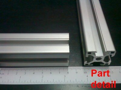 Aluminum T-slot Extruded Profile 30x30-8mm L100 200 300 400 Or 500mm -3pieces