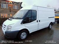 2008 08-REG FORD TRANSIT, MWB, 91000 MILES, SECURITY DOOR LOCKS, ## NO VAT ##