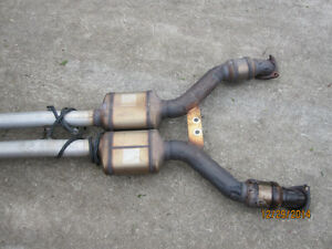 2003 CHEVY CORVETTE EXHAUST SYSTEM