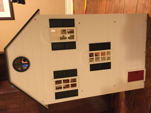 Pottery Barn Doll House with Furniture