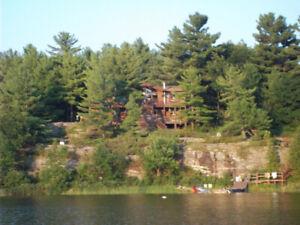 Waterfront Cottage Parry Sound Golf Course-$1950 plus utilities