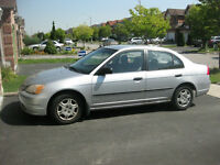 SELLING 2001 Honda Civic