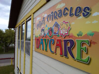Available Spaces for November (Mini Miracles Daycare)