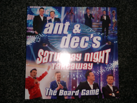 Ant and Dec's Saturday Night Takeaway The Board Game. Brand New In Box