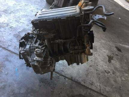 Volkswagen AUDI GOLF POLO 1.6L ENGINE AND TRANSMISSION