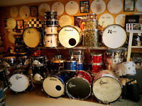 Custom and Vintage - TRS, Gretsch, Mapex, Premier, Rogers.