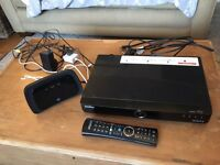 BT youview box and remote.