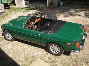 FOR SALE 1979 MGB Convertible
