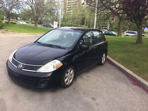 2008 Nissan Versa SL , 6 speed Hatchback