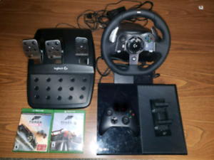Xbox one and Logitech g920