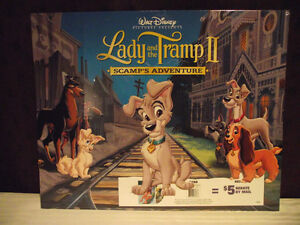 Disney Lady and the Tramp II Lithographs (Set of 4) Edmonton Edmonton Area image 1