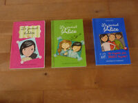 A VENDRE COLLECTION LE JOURNAL D'ALICE TOMES 1,2,7