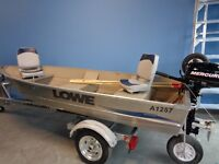 Pre-Owned 2013 L1257 Lowe Boat