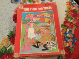 Vintage Pink Panther puzzle for sale
