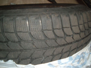 Michelin X ICE 205/65/15 tires