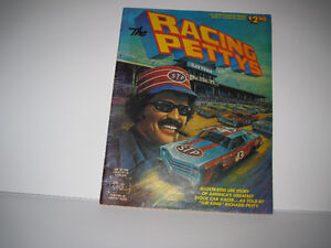 Rare Vintage Giant Nascars' Richard Petty Colored Comic