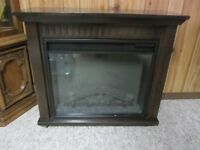Twin Star Electric Heater and Fireplace