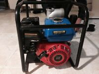 4 inch suction pump/ 5.5hp gas powered