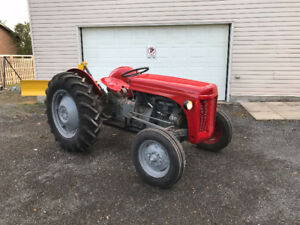 Ferguson Tractor with 3 Point Hitch and PTO