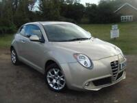 Alfa Romeo MiTo 1.4 8v 78bhp 2011MY Sprint, 40K, IMMACULATE, F.S.H, blue and me