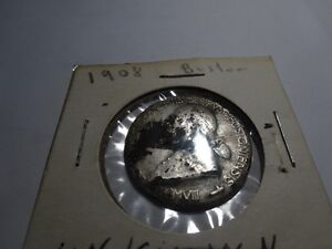1908 Silver medal -Card. O'Connell, Archbish of Boston *Reduced*