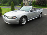 2002 Ford Mustang V-6 AUTOMATIQUE A/C CUIR COMME NEUF