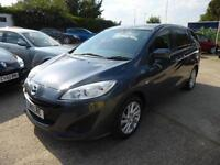 MAZDA 5 1.6 DIESEL, TS2, REAR PARK SENSORS, AIR CON, FSH, 46,000 MILES ONLY