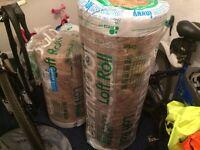 1 & 2/3 of full packs of 150mm Knauf Earthwool Combi-Cut Loft Insulation Roll 44