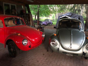Vw aircooled Beetle and Bus parts lot