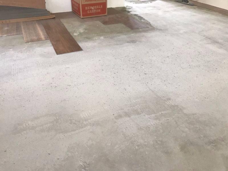 Vinyl Plank Flooring Preparation Crack Repairs Patching Subfloor - Preparing floor for vinyl plank flooring