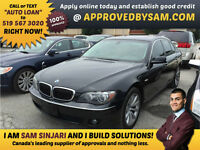 "BMW 750I - BAD CREDIT - TEXT ""AUTO LOAN"" TO 519 567 3020"