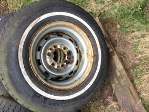 Chevy square body rally rims and trim rings