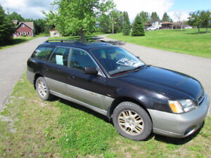 2002 Subaru Outback Limited Wagon Noisy idle Daily driver $800